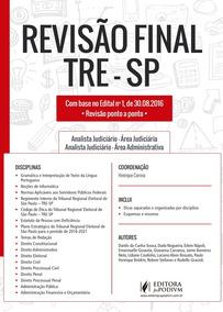 Livro Revisão Final Tre-sp + Revisaço Direito Eleitoral 409