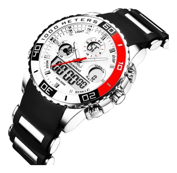Relógio Masculino Militar Esportivo Digital Readeel Rd1282