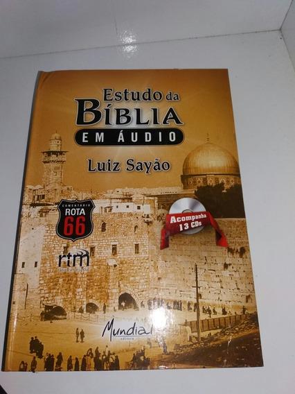 Box De Estudo Da Biblia Em Audio Acopanha 13 Cds