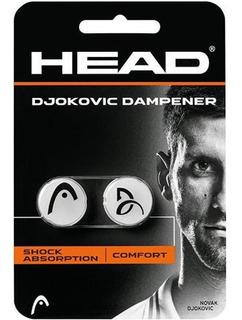 Antivibrador Head Djokovic Dampener Branco Pack 2 Unid