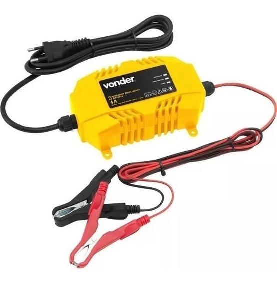 Carregador Inteligente De Bateria 110v Cib 070 Vonder