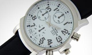 Reloj Caballero Montreal Modelo 36116-5 Sumergible 3atm