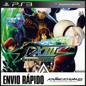 The King Of Fighters Kof 13 Xiii - Jogos Digital Ps3 Psn
