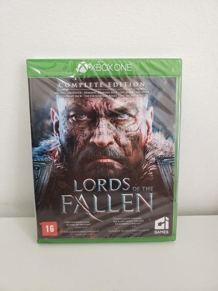 Jogo Xbox One Lords Of The Fallen Complete Edition Lacrado