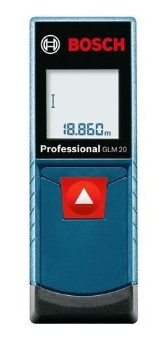 Medidor Laser De Distancias Bosch Glm 20 Professional