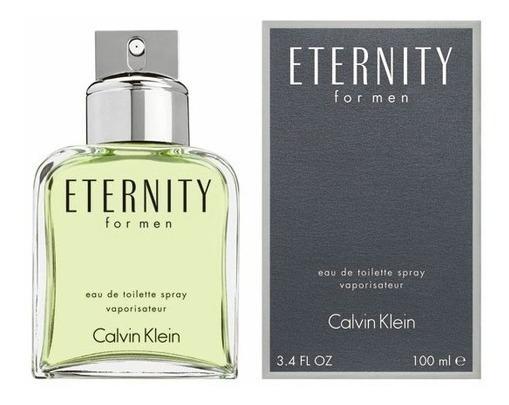Perfume Calvin Klein Eternity Masculino Edt 100ml - Original + Nota Fiscal