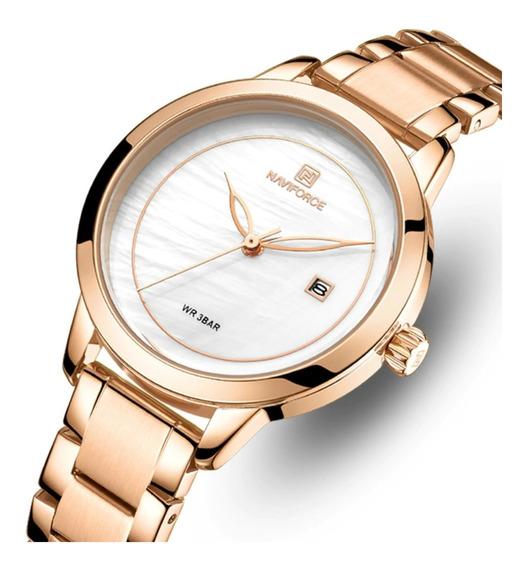 Relógio Feminino Naviforce 5008 À Prova D