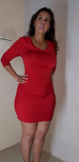 Vestido Otilia Marca Lineas T: 32, 34 Y 36