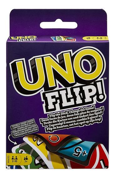 U-no Jogo De Cartas Flip Cards Família Amigos Party Cartão