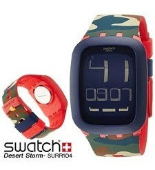 Reloj Swatch Desert Storm Surr104