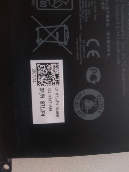 Bateria Dell Inspiron 15 7566/7559