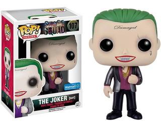 The Joker Suit Suicide Squad Walmart Exclusive Funko Pop