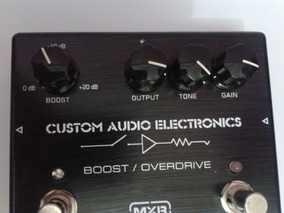 Pedal Mxr Custom Audio Electronics Boost/overdrive