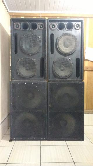 Equipamento De Som, Sonorização Proficional - Venda Ou Troca