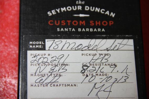 Captadores Seymour Duncan Custom Shop