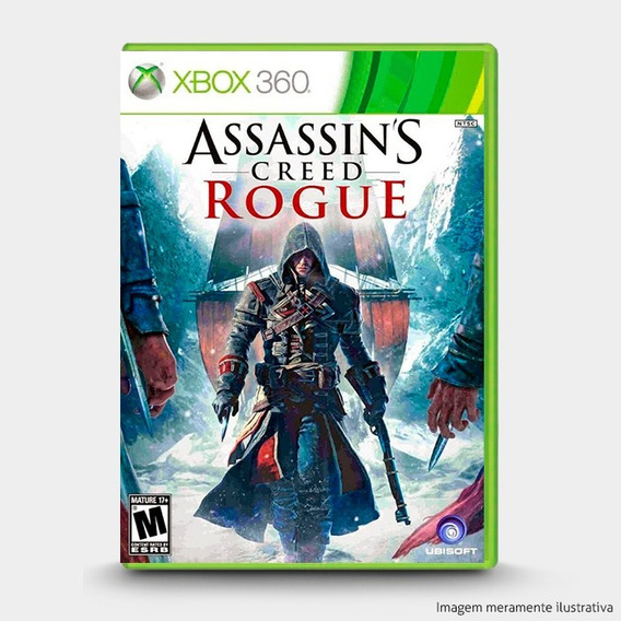 Assassins Creed Rogue - Original P Xbox 360 - Novo