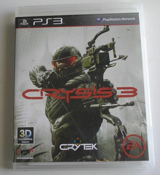 Crysis 3 Ps3 Usado Testado E Funcionando Ok