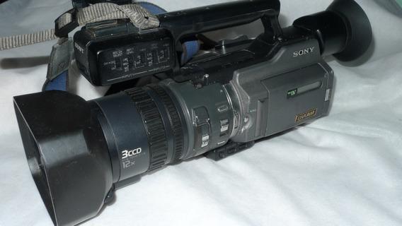 Filmadora Mini Dv Dsr-pd 170 Sony Usada Leia Tudo