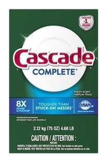 Cascade Complete Detergente Lavavajillas Polvo 2.12kg