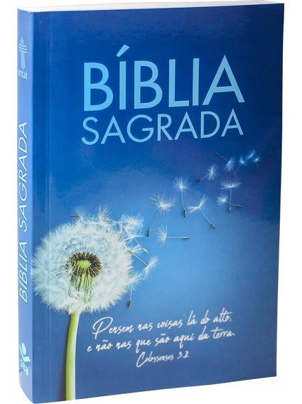 Bíblia Sagrada Ntlh / Capa Borchura Azul