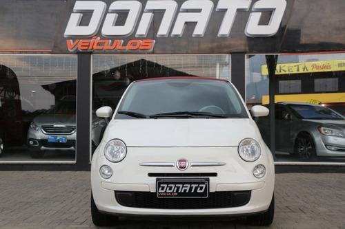 Imagem 1 de 15 de Fiat 500 1.4 Cabrio 8v Flex 2p Automatizado
