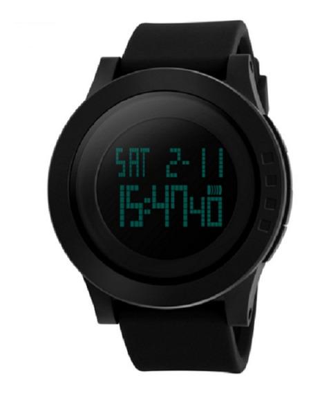 Relógio Skmei Original Sshock Led Digital Black Mega Oferta