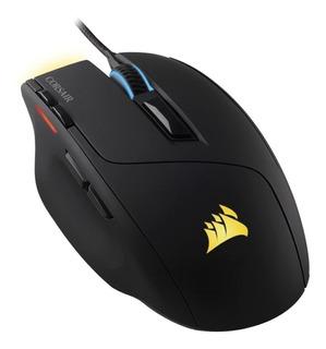 Mouse de juego Corsair Sabre Gaming negro