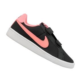 Tênis Nike Infantil Court Royale Cinza Menina 833655002