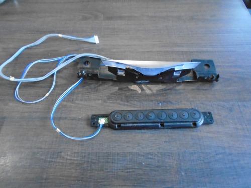 Imagen 1 de 3 de Botones Y Receptor Infrarrojo LG 55la6205-ua Con Su Arnes