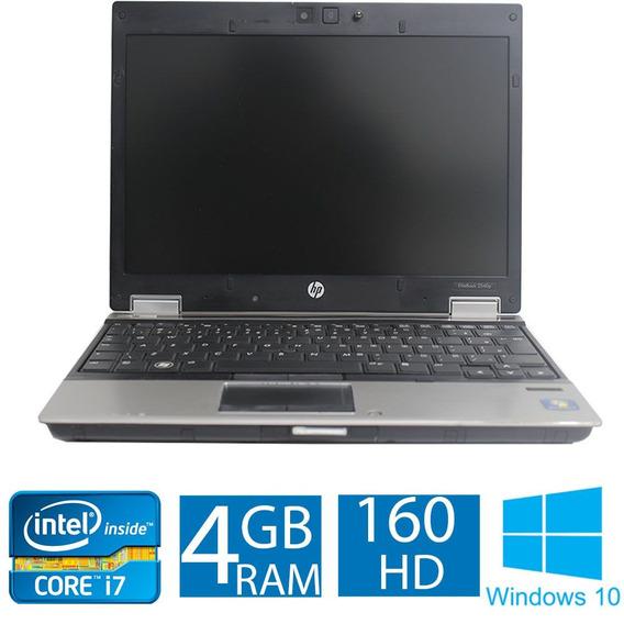 Notebook Hp Elitebook 2540p I7 4gb 160hd