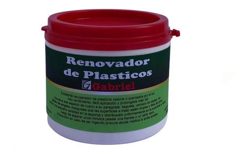 Revividor Palasticos Negro Paragolpes Espejos  En Crema 500