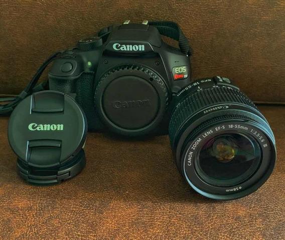 Cânon T6 Lente 18-55 + 50mm Yongnuo + Brinde