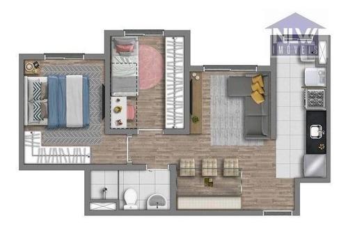 Apartamento À Venda, 41 M² Por R$ 228.000,00 - Cidade Líder - São Paulo/sp - Ap1888