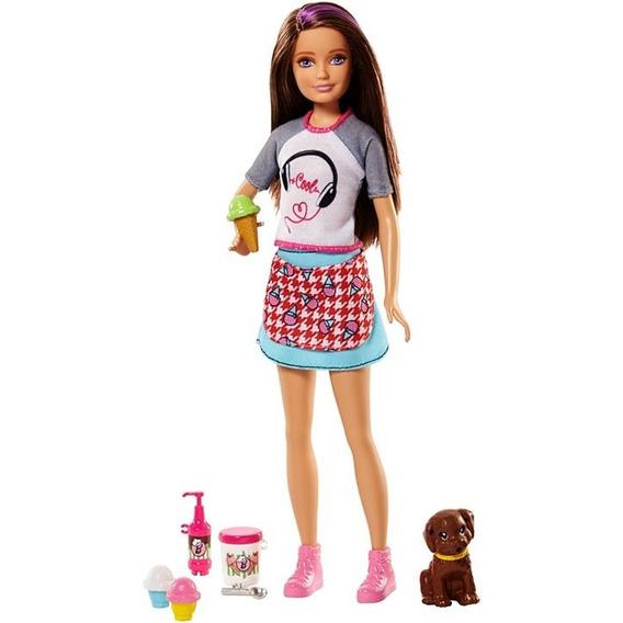 Boneca Barbie Cozinhando E Criando Mattel Fhp61