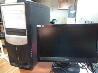Computador Cpu Monitor 15 Teclado Mouse