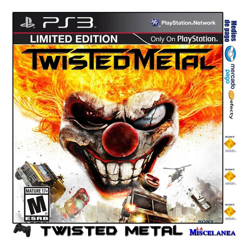 Twisted Metal Ps3 Digital