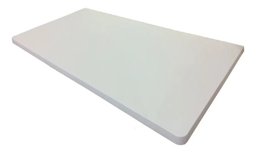 Mesa Bancada Parede Sem Suporte Branca 100x35cm