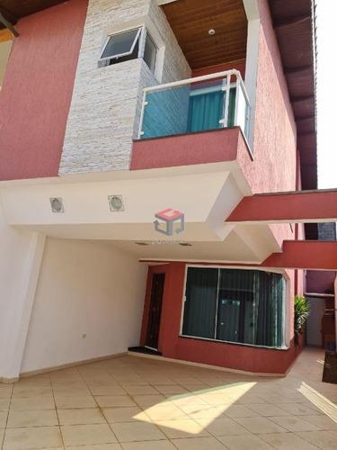 Imagem 1 de 29 de Sobrado À Venda, 4 Quartos, 1 Suíte, 4 Vagas, Las Vegas - Santo André/sp - 99423
