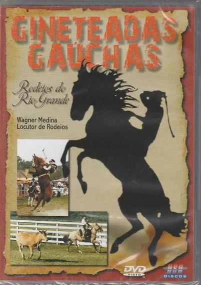 Gineteadas Gaúchas Rodeio Do Rio Grande Do Sul - Dvd Músic