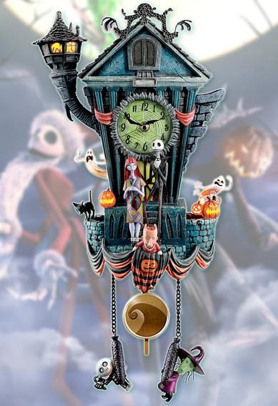 Reloj Cucu Nightmare Before Christmas Jack Skellintos C10
