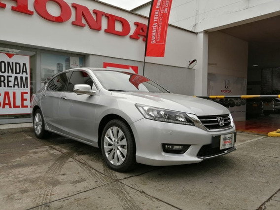 Honda Accord Exl V6 2014 Plata
