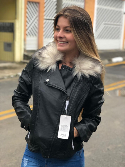 Jaquetas Femininas Couro Top Promoçao
