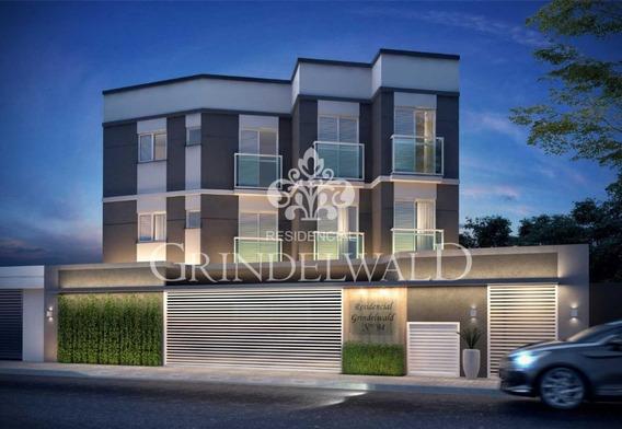 Cobertura 45+45m² Sem Condomínio Em Construção, 2 Dormitórios, Mobiliado, Acesso Interno - R$ 279.000,00 - Vila Guiomar - Santo André/sp - Co0812