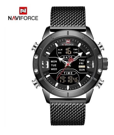 Relógios Militar Esporte Dupla Afixação À Prova D Água