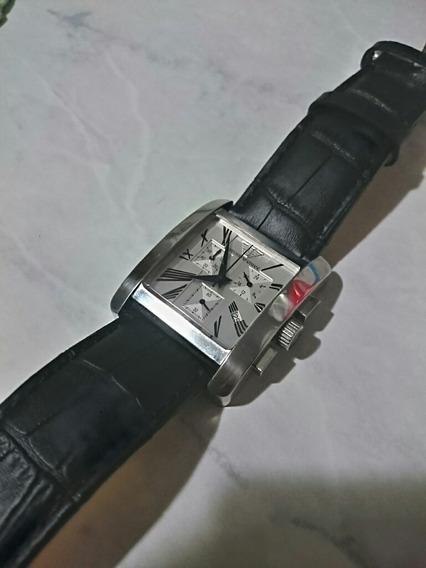 Relógio Armani Importado Quadrado