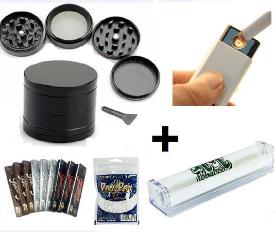 Kit Especial Dichavador 4 Partes + Isquerio Usb + Acessorios