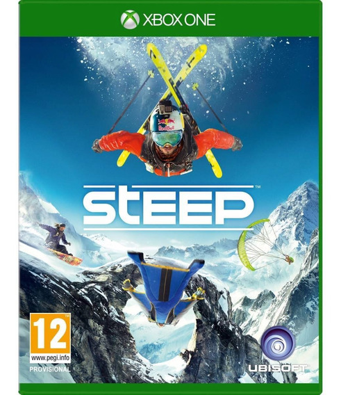 Jogo Novo Mídia Física Steep Original Para Xbox One