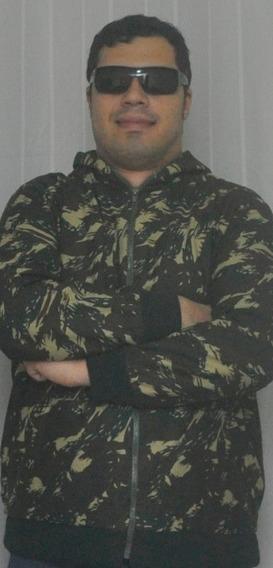 Jaqueta De Malha Camuflado Do Exército Tenho De Pp A Gg