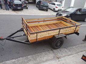 Carreta Fazendinha 2,5x1,30 R$3290,00 - 700 Kg Zero Km