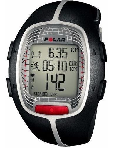 Relogio Polar Rs300x Preto - Gps - Monitor Cardíaco - Novo